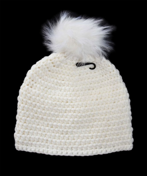 Tiroler Ski-Mütze weiß