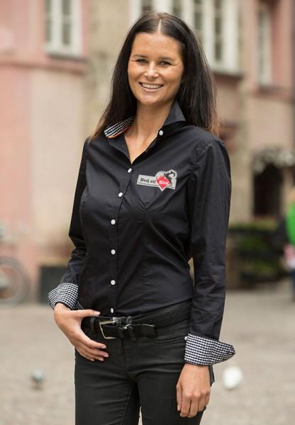 Damen Bluse - schwarz