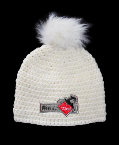 Mütze Weißwild