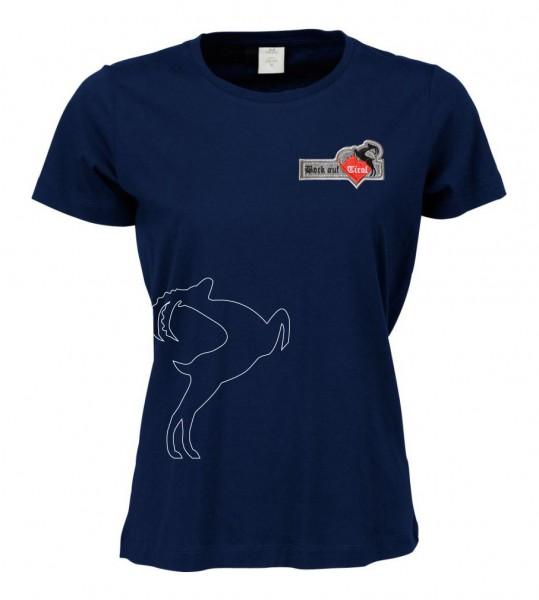 Damen Shirt - navy