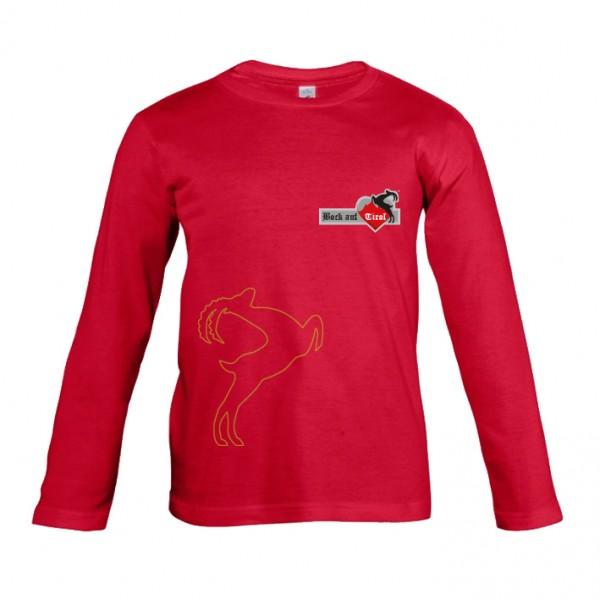 Kinder Shirt - rot