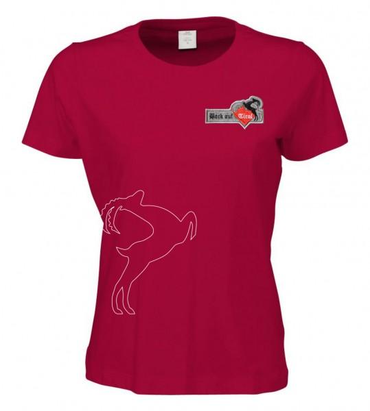 Damen Shirt - rot